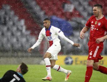 Pega primero PSG a Bayern con doblete de Mbappé